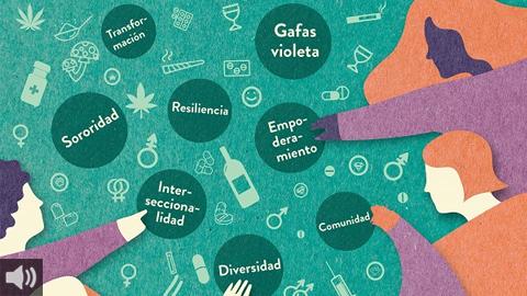 """El sexto encuentro estatal de profesionales de ámbitos de género y drogas  se celebra bajo el lema """"Miradas feministas al abordaje de drogas"""""""