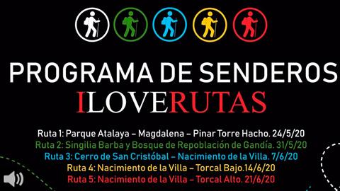 La iniciativa 'I Love Rutas' permite realizar senderismo dentro del término municipal de Antequera durante el estado de alarma