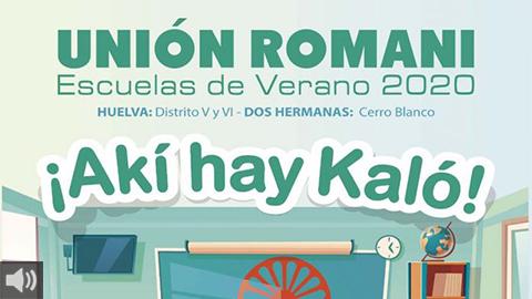Las Escuelas de Verano de Unión Romaní son una alternativa lúdico-educativa en las vacaciones estivales para las niñas y niños en riesgo de exclusión social