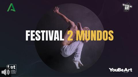 El Instituto Andaluz de la Juventud une a artistas sordos y oyentes en el Festival 2 Mundos para visibilizar que el arte es solidario e inclusivo