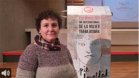 """""""No entiendo cómo la justicia ampara a un padre maltratador y me condene por proteger a mi hija de él"""", María Salmerón"""