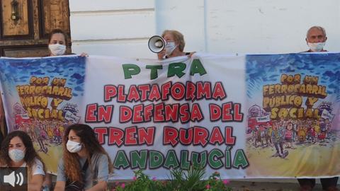 Colectivos en defensa del tren rural piden que se garanticen los servicios ferroviarios para conectar a los municipios y evitar la despoblación