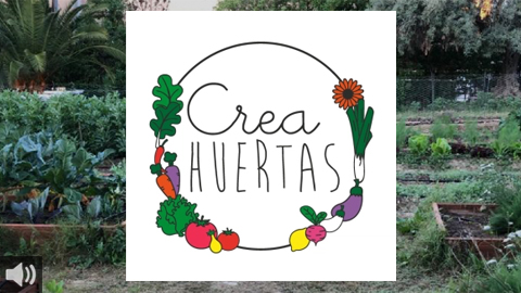 Crea Huertas es el proyecto de consumo e investigación de variedades ecológicas que divulga buenas prácticas agroecológicas para la lucha contra el cambio climático en zonas rurales