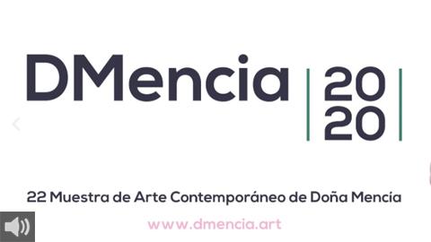 La muestra DMencia apuestapor proyectos artísticoscontemporáneos, nuevas tendencias y es referente de la experimentaciónexpositiva