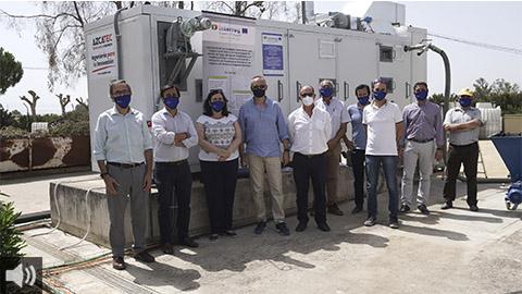 El Proyecto SECASOL es pionero en el mundo y demuestra la viabilidad de la energía solar para el secado de lodos procedentes de aguas residuales urbanas