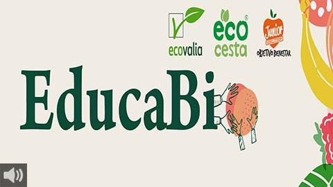 El proyecto Educabio promueve la dieta saludable y ecológica en Andalucía con acciones en 22 centros escolares y reconoce los productos ecológicos con el distintivo europeo