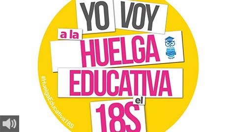 Colectivos de estudiantes convocan tres días de huelga en toda España para que los y las estudiantes accedan a una educación digna y segura en este nuevo curso