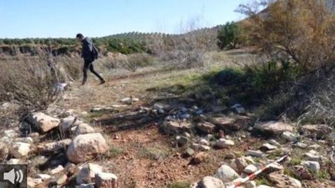 Intervención urgente en la provincia de Jaén para conservar los mosaicos hallados junto al embalse de Giribaile en la localidad de Rus