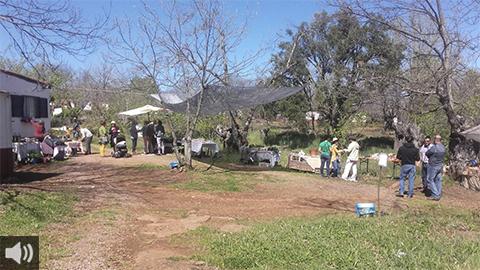 'No entendemos por qué no se toman las medidas oportunas para preservar el terreno, sabiendo la frecuencia con que la provincia de Huelva sufre los incendios',Santiago López, Asociación Los Pies en la Tierra