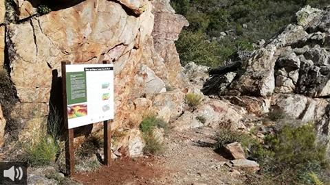 La ruta geológica de Alpandeire recorre la diversidad natural que adereza los encantos de este municipio malagueño