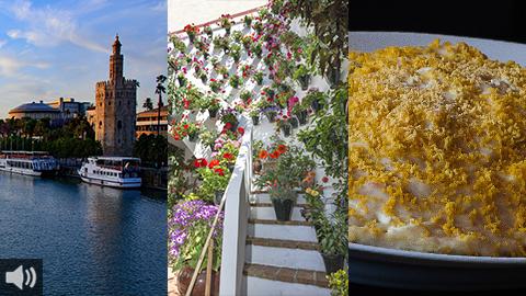 El Guadalquivir, los patios de Córdoba y la mejor gastronomía, protagonistas de Es Andalucía