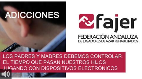 FAJER pide proteger a los menores de edad e invertir en prevención y concienciación ante los juegos de azar