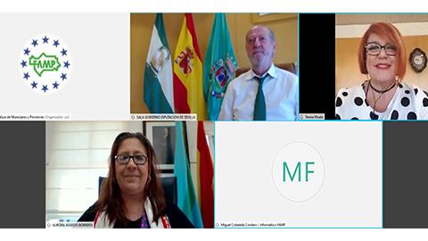 FAMP y EMA-RTV consolidan su colaboración con la puesta en marcha de un 'Laboratorio Participativo para la comunicación y el marketing institucional en la administración local de Andalucía'