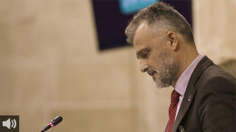 'Este debate ha servido para que el presidente de la Junta reconociera que la sanidad andaluza está sobrepasada y sobrecargada', José Fiscal, portavoz del Grupo Socialista en el Parlamento de Andalucía