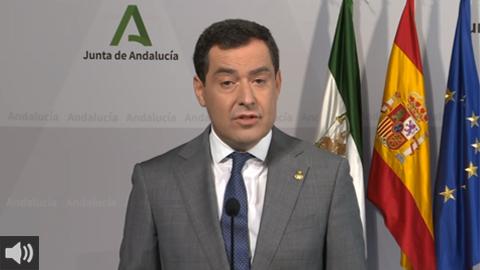 La Junta adoptará este miércoles las nuevas medidas para el control de la pandemia en Andalucía