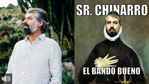 Esta semana en Latidos 37 entrevista con Antonio Luque, Sr. Chinarro, sobre su último disco y la actualidad