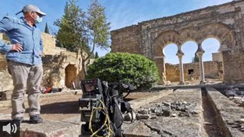 Arranca el rodaje de la producción internacional 'Medina Azahara, la joya olvidada de Al-Andalus'