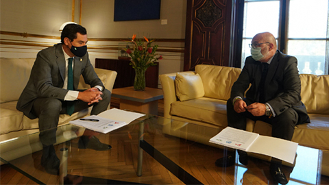 El Gobierno de Andalucía cierra un acuerdo con Vox para aprobar los Presupuestos de 2021