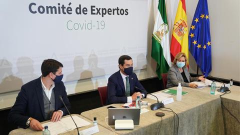 Andalucía prorroga las restricciones hasta el 10 de diciembre pero flexibiliza la recogida de pedidos en bares y restaurantes