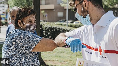 Cruz Roja pone en marcha el programa 'Atención a Personas sin Hogar'