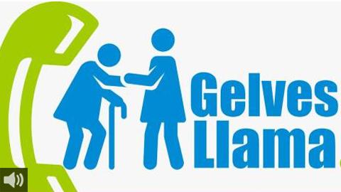 """""""Gelves Llama"""" es un Programa de Acompañamiento Telefónico para Personas Mayores y/o Dependientes que se sientan solas en la localidad"""