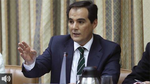 'Si la oposición presenta enmiendas a la totalidad significa no estar a favor de los andaluces', José Antonio Nieto, portavoz del Grupo Popular en el Parlamento de Andalucía