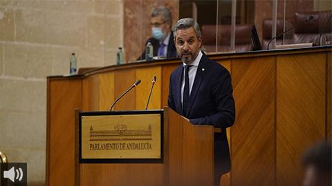 Juan Bravo: 'Las cuentas andaluzas para 2021 son las de la certeza, la seguridad y la credibilidad'