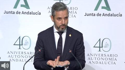 Juan Bravo: 'Los presupuestos andaluces para 2021 contemplan el refuerzo de la financiación a los ayuntamientos, con un total de 510 millones de euros'