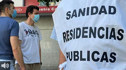 La situación en centros residenciales por el contagio de la Covid-19 sigue siendo preocupante