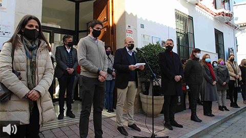 'Las instituciones y la justicia tienen que ir de la mano para erradicar la violencia machista', Jorge Gallardo, alcalde de Cártama