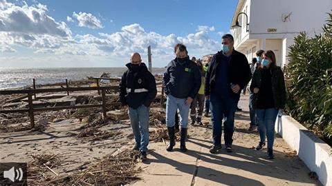 'Filomena nos ha hecho apreciar la importancia de la gestión local también en este tipo de fenómenos', Josele González, alcalde de Mijas