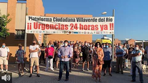 La Atención Primaria se resiente con la suspensión del servicio de urgencias 24 horas en municipios como el de Villaverde del Río