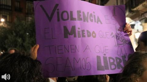 'Creemos que la protección a las víctimas depende solo de que actúen, cuando es algo que involucra a las instituciones públicas y a la sociedad', Amparo Díaz, abogada