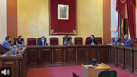 Los alcaldes y alcaldesas jiennenses del eje de la Nacional IV abogan por un compromiso urgente en la reindustrialización de sus municipios