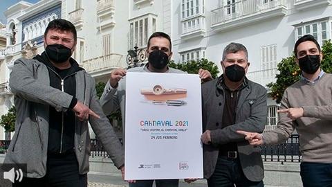 'Cádiz inspira, el Carnaval habla son dos coloquios que abordan la importancia de esta fiesta como la creación cultural que nace de la inspiración más profunda', Antonio González, Diputación de Cádiz