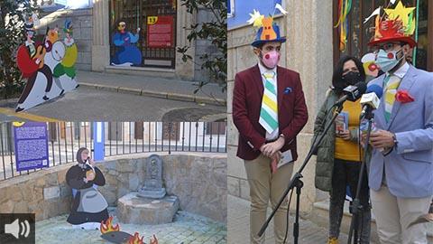 El municipio cordobés de Rute teje la historia de su carnaval por medio de la exposición urbana 'Máscaras, mascarones y mascarillas'