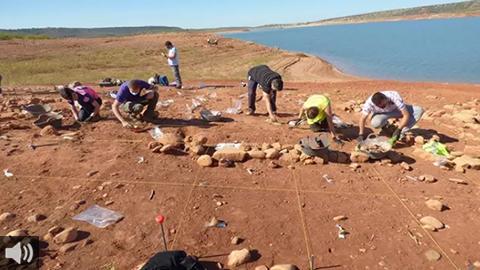 El entorno del embalse de Giribaile, en Rus, se convierte en cuna íbera y romana tras el descubrimiento de varios yacimientos de estas épocas