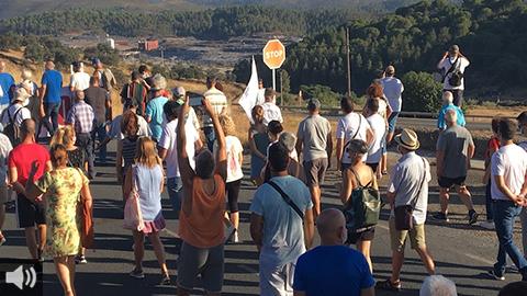 'Es indigno que en Montenegro se celebre la salida de 30.000 toneladas de residuos peligrosos como una fiesta nacional y luego los veamos llegando al vertedero de Nerva', José Luis Lozano, Alternativa Ciudadana Nerva