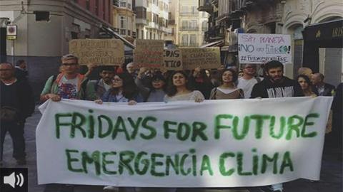 'El Plan Andaluz de Acción por el Clima aún está en borrador cuando se tendría que haber presentado en enero de 2020', Guillermo Contreras, Rebelión por el Clima Córdoba