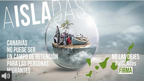 Red Refugio se suma a la campaña de CEAR para reclamar al Gobierno no dejar #aISLAdas a las personas migrantes en Canarias
