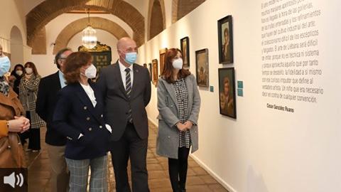 La esencia de Ginés Liébana permanece hasta el 31 de mayo en la muestra antológica del artista del Grupo Cántico que acoge la Diputación Provincial de Córdoba