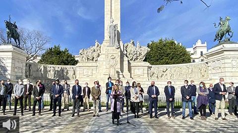 'Necesitamos planes extraordinarios de empleo para evitar un municipalismo a dos velocidades con una brecha de desigualdad enorme', Irene García, presidenta de la Diputación Provincial de Cádiz