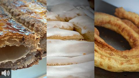 La Confitería La Centenaria, en Alcalá de Guadaíra, nos abre las puertas para impregnarnos de los aromas y sabores de los dulces típicos de la Cuaresma
