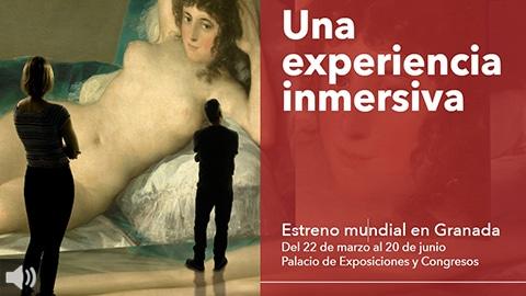 #INGOYA enlaza las nuevas tecnologías con la obra de Francisco de Goya para ofrecer una experiencia inmersiva única