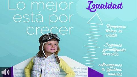 El Instituto Andaluz de la Mujer pone el acento en el poder transformador de la educación en igualdad con la campaña 'Lo mejor está por crecer'