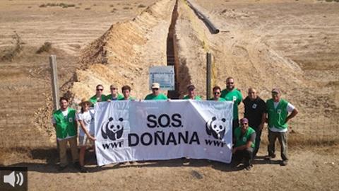 'Los cambios climáticos y la extracción ilegal del agua perjudican gravemente a todo el conjunto de Doñana, no solo al humedal', Juanjo Carmona, WWF Doñana