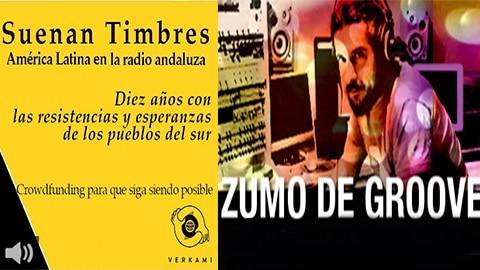 Zumo de Groove y Suenan Timbres celebran una década en la parrilla de la Onda Local de Andalaucía