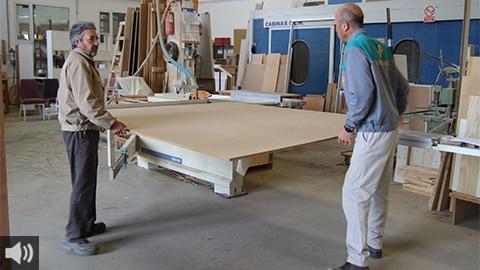'El sector de la artesanía de madera necesita que haya más escuelas de formación para que la juventud garantice el relevo generacional', Francisco J. Hidalgo Asociación de Industriales de la Madera