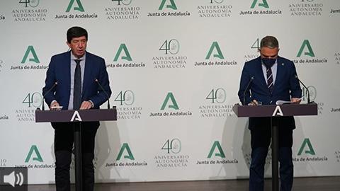 La Junta anuncia un ahorro fiscal de 329 millones con una bajada de impuestos que prevé beneficiar a más de 4 millones de andaluces y andaluzas