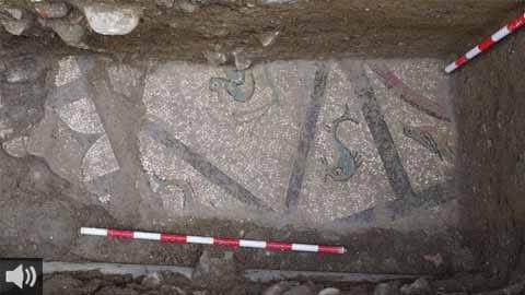 El Ayuntamiento de Cártama ha descubierto un nuevo mosaico romano demostrando así demostrar el enorme potencial arqueológico del municipio cartameño